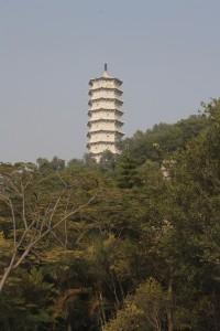 the pagoda at yuanboyuan
